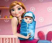 Frozen Anna New Born Baby