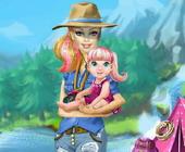 barbie geht zum campingplatz