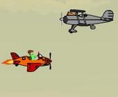 ben 10 combat de l avion