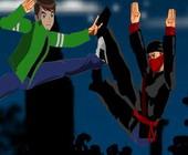 Ben 10 vs Ninja
