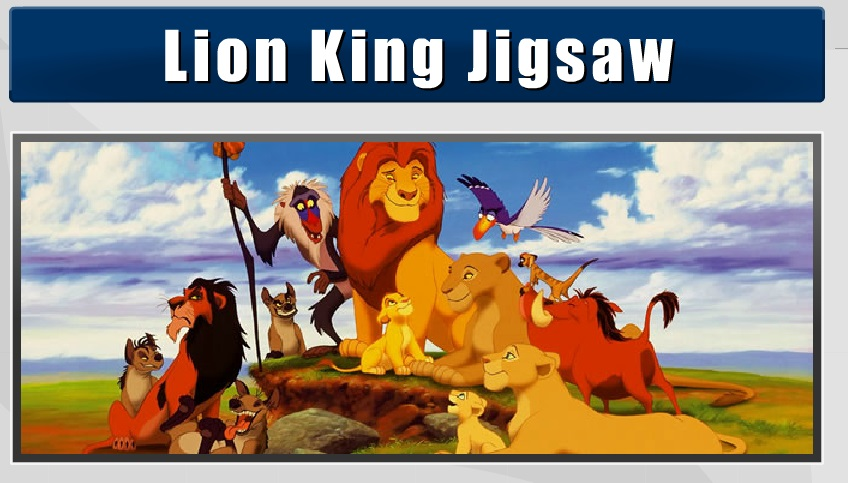 Lion King Jigsaw