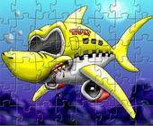 Taxi Vliegtuig Puzzel