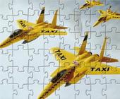 Vliegtuig Taxi Puzzel